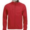 Basic Softshell Jacket Clique - rot
