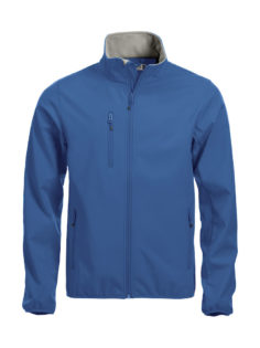 Basic Softshell Jacket Clique - royalblau