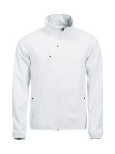 Basic Softshell Jacket Clique - weiß