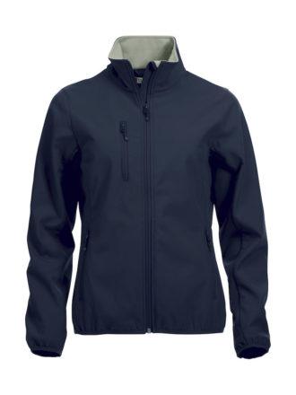 Basic Softshell Jacket Ladies Clique - dark navy