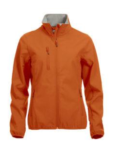 Basic Softshell Jacket Ladies Clique - orange