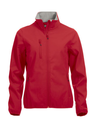 Basic Softshell Jacket Ladies Clique - rot
