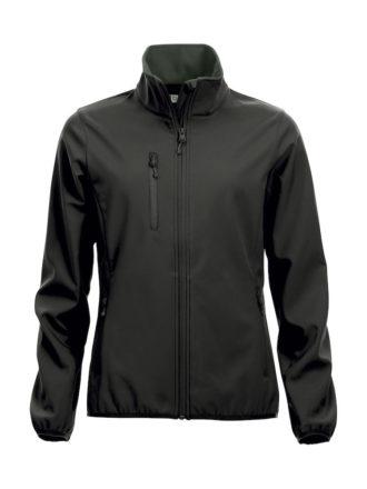 Basic Softshell Jacket Ladies Clique - schwarz