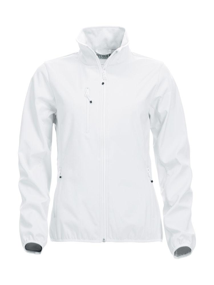Basic Softshell Jacket Ladies Clique - weiß