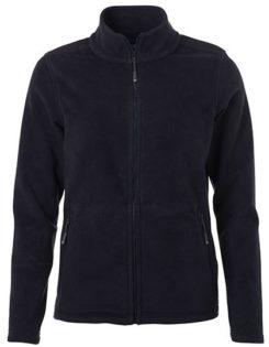 Ladies Fleece Jacket James & Nicholson - navy