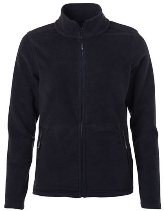 Ladies Fleece Jacket James & Nicholson - navy