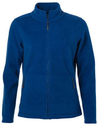 Ladies Fleece Jacket James & Nicholson - royal