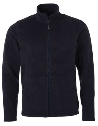 Mens Fleece Jacket James & Nicholson - navy
