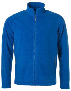Mens Fleece Jacket James & Nicholson - royal