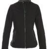 Trial Ladies Softshell Jacket Printer - schwarz