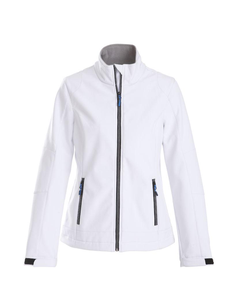 Trial Ladies Softshell Jacket Printer - weiß