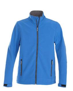 Trial Softshell Jacket Printer - blau