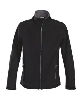 Trial Softshell Jacket Printer - schwarz