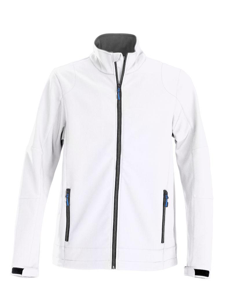 Trial Softshell Jacket Printer - weiß
