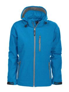 Tulsa Ladies Softshell Jacket Grizzly - blau