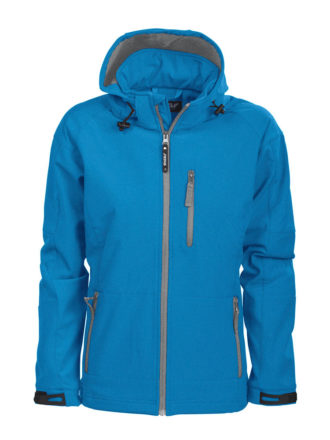 Tulsa Ladies Softshell Jacket Grizzly - blau