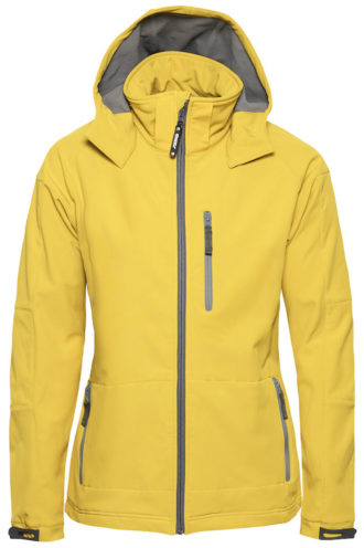 Tulsa Ladies Softshell Jacket Grizzly - gelb