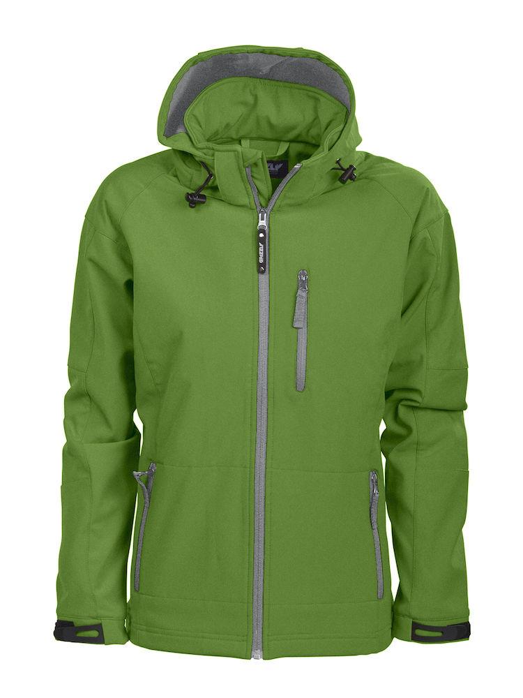 Tulsa Ladies Softshell Jacket Grizzly - grün