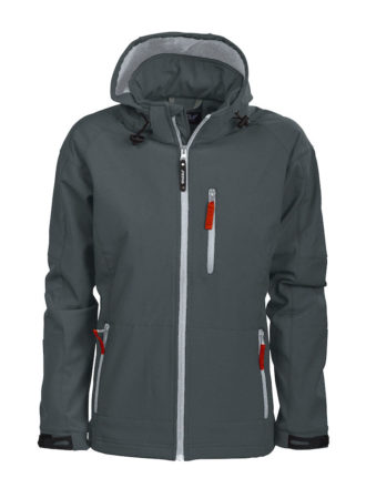 Tulsa Ladies Softshell Jacket Grizzly - grau