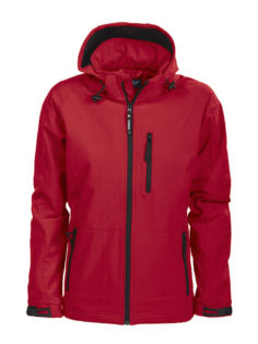 Tulsa Ladies Softshell Jacket Grizzly - rot