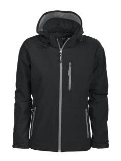 Tulsa Ladies Softshell Jacket Grizzly - schwarz