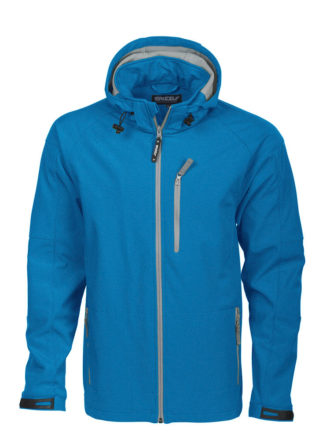 Tulsa Softshell Jacket Grizzly - blau