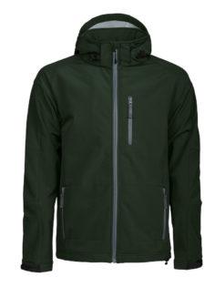 Tulsa Softshell Jacket Grizzly - dunkelgrün