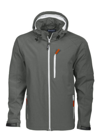 Tulsa Softshell Jacket Grizzly - grau