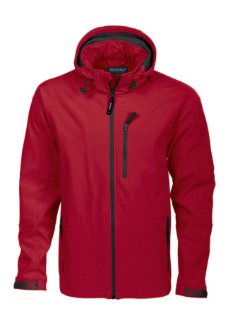 Tulsa Softshell Jacket Grizzly - rot