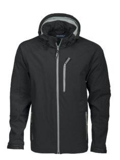 Tulsa Softshell Jacket Grizzly - schwarz