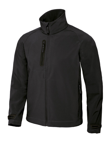 X Lite Softshell Men B&C - black
