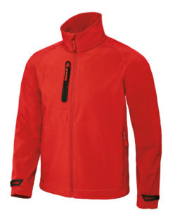 X Lite Softshell Men B&C - deep red