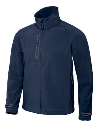X Lite Softshell Men B&C - navy