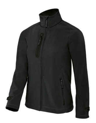 X Lite Softshell Women B&C - black