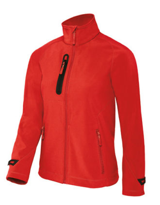 X Lite Softshell Women B&C - deep red