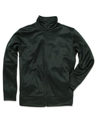 Active Bonded Fleece Jacket Stedman - black opal