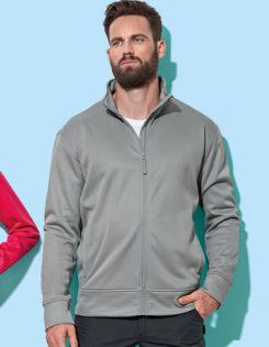 Active Fleece Jacket Stedman - frost grey