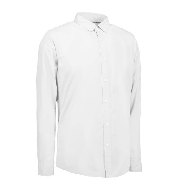 Identity Casual Stretch Hemd - weiß