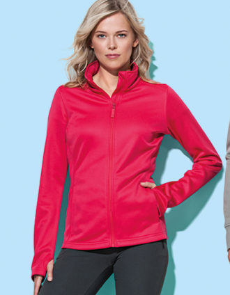 Ladies Active Bonded Fleece Jacket Stedman