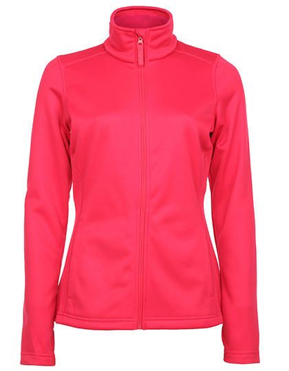 Ladies Active Bonded Fleece Jacket Stedman - virtual pink