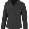 Ladies Fashion Fit Outdoor Fleece Result - black