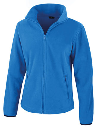Ladies Fashion Fit Outdoor Fleece Result - electric blue