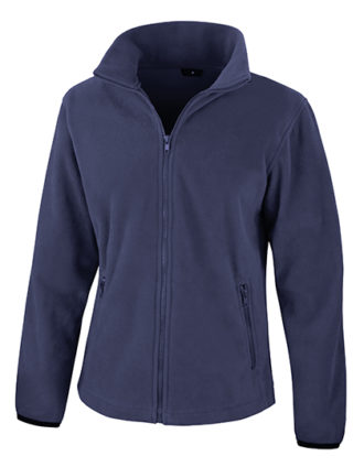 Ladies Fashion Fit Outdoor Fleece Result - navy