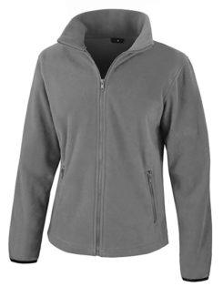 Ladies Fashion Fit Outdoor Fleece Result - pure grey