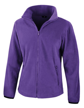 Ladies Fashion Fit Outdoor Fleece Result - purple