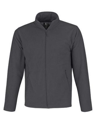 Microfleece Duo Jacket B&C - dark grey