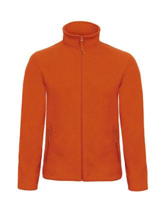 Microfleece Duo Jacket B&C - pumpkin orange