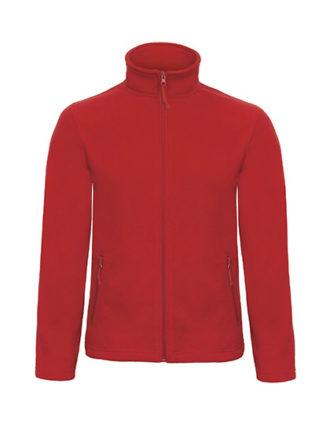 Microfleece Duo Jacket B&C - red