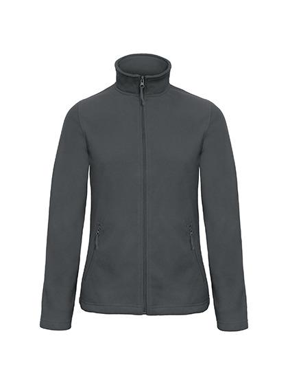 Microfleece Duo Jacket Women B&C - dark grey