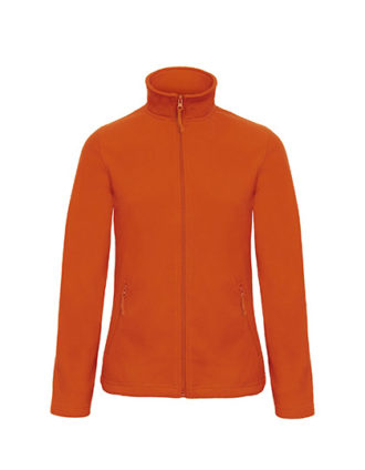 Microfleece Duo Jacket Women B&C - pumpkin orange